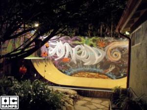 Graffiti Art Ramp Skate Paint Your Masterpiece Skatepaint